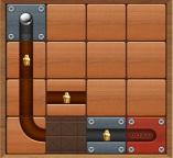 Лабиринты: Головоломка с мячом и скользящими блоками