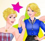 Принцессы Диснея на модной фотосессии