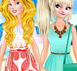 Принцессы Диснея на летней вечеринке