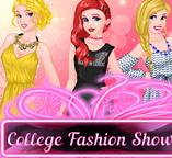 Ариэль, Золушка и Аврора устраивают модный показ в колледже