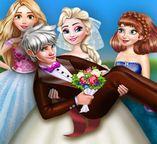Эльза и Джек: Прикольное свадебное фото